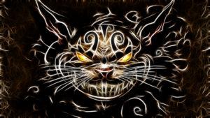 http://creepypasta.wikia.com/wiki/Cheshire_Cat